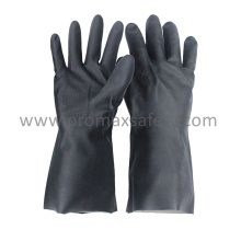 18mil Black Neoprene Chemical Resistant Gloves