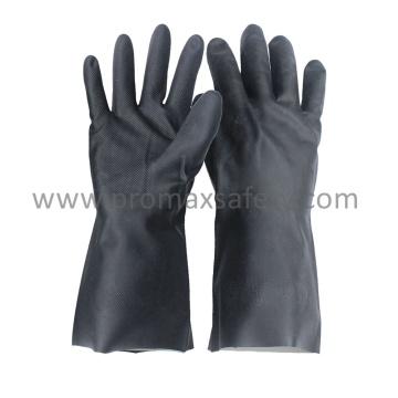 18mil Black Neoprene Chemical Resistant Gloves