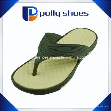 Коричневый серый скольжения на флип-флоп стринги сандалии