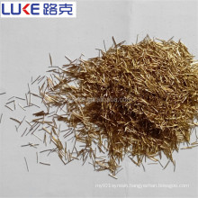 Factory price copper coated micro steel fiber for concrete