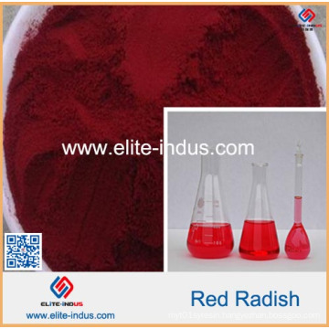 Natural Color Red Radish Color