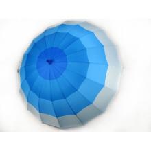 Guarda-chuva reto da impressão em cor do gradiente (BD-45)