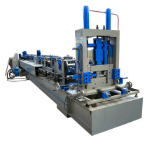 Hebei xinnuo totalmente automático CZ terça rolo dá forma à máquina