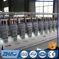 ZHAO921 flach mit doppeltem Paillettengerät computergesteuerte Stickmaschine