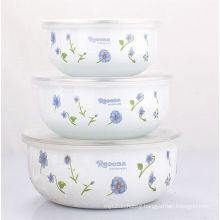 3PCS Enamel Salad Bowl Set (LFC1042D)