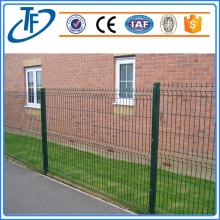 anti-corrosion powder coated 3d welded wire mesh fence