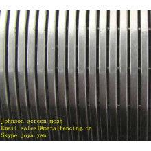 Chine fournisseur en acier inoxydable Johnson écran maille