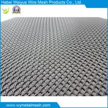 Malla de alambre de acero inoxidable recubierto de PVC para proteger la red de ventanas