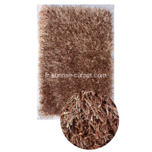 Tapis Shaggy polyester Viscose & soie