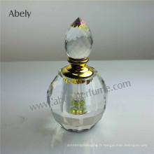 Bouteilles en huile de cristal en forme de 6 ml