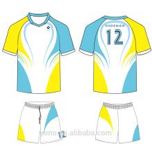 OEM / ODM service 100% hochwertige neue stil professionelle volle sublimation fußball jersey für ausbildung und spiel