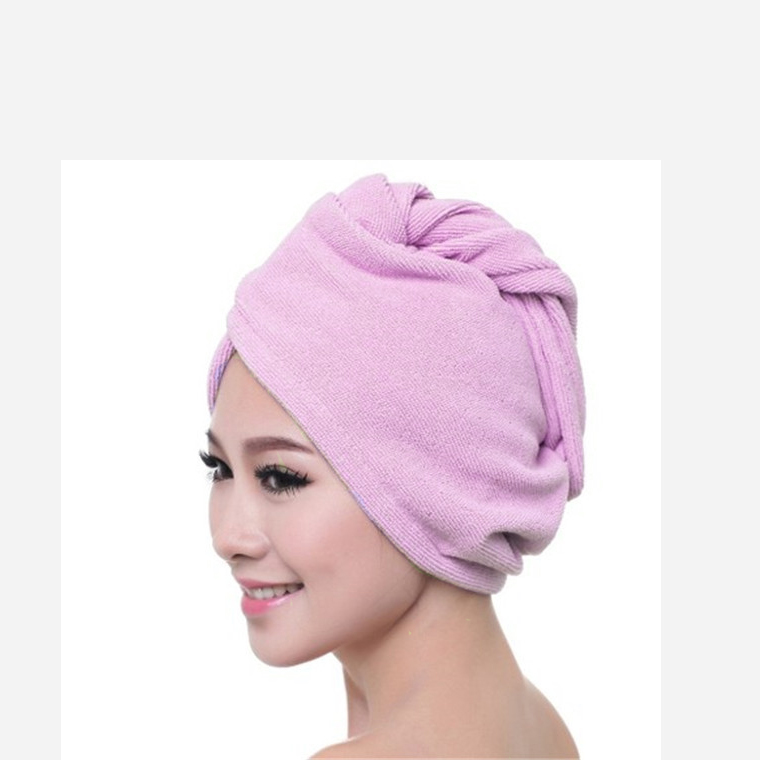 turban towel for wet hair