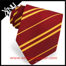 Stripe Red Yellow Man Necktie
