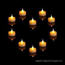 Wholesale flameless battery mini LED tea light candle