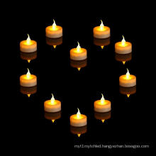 Wholesale flameless battery mini LED tea light candle
