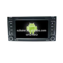 Quad-Core-Auto-DVD-Player Android für Auto, Wi-Fi, BT, Spiegel Link, DVR, SWC für VW OLD TOUAREG