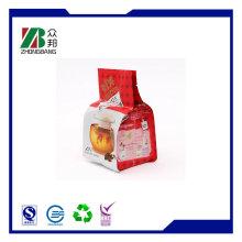 Side Gusset Heat Seal Kaffee Verpackungsbeutel, 4 Seitendichtbeutel