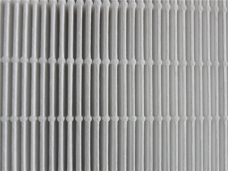 Mini Pleat Fiberglass Air Filter Paper