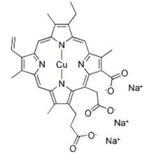 Sodio cobre clorofilina CAS 28302-36-5
