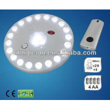 Luz de tenda de LED com controle remoto