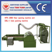 Fiber Opening Machine with Packing Machine