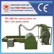 Máquina não tecida da abertura da fibra de poliéster