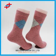 Wolle stricken lässige warme Socken