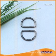 Tamaño interior 20mm Metal Hebillas, Regulador de metal, Metal D-Ring KR5054
