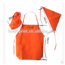 Child's apron made, kindergarten hotel disposable non-woven suit apron, waterproof anti oil can be printed LOGO