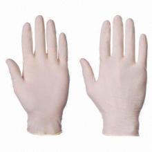 Medical Disposable Vinyl Gloves, Good Ductility and Stretchability, Various Designs Available