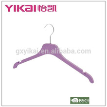 2015top sale rubber lacquer ABS shirt/skirt clothes hanger