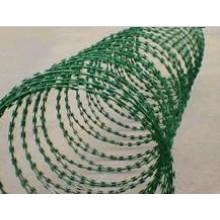 Emaillierte Concertina Rasiermesser Wire Bto-22
