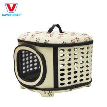 Tragbare wasserdichte Haustier-Reise-Fördermaschine-weiche mit Seiten versehene Haustier-Fördermaschine