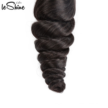 Free LOGO Printing Tuneful Wavy Loose Human Hair Top Quality Manufacturer Weave In Mozambique