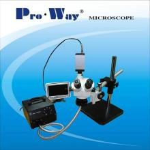 Professional Inspection Zoom Stereo Microscope (PW-1Z)
