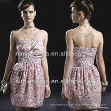 E0004 Sequins Cocktail Evening Dress / Shinning Short Party Dress Vestido de noiva