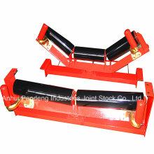 Componentes do transportador / rolo transportador / rolo transportador de correia de auto-alinhamento