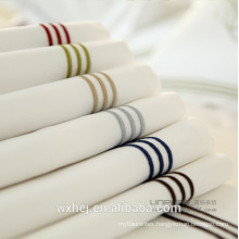 modern embroidered luxury hotel bed linen