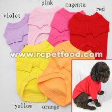 綿のペットの犬の夏のTシャツ