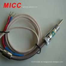 MICC-Thermoelement mit kleiner Schraube und metallgeschirmtem Kabel