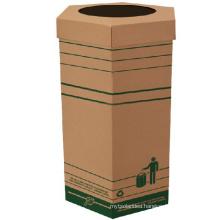 Cardboard Bin Waste Paper Bin Battery Storage