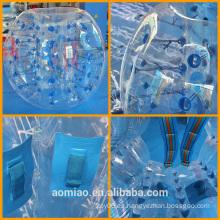 Bola plástica de la burbuja del plástico del precio bajo, burbuja inflable del fútbol / burbuja del balompié