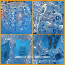 Low price plastic bubble ball bumper ball, inflatable soccer bubble/football bubble