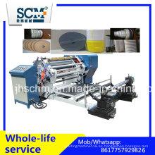 Máquina automática de corte y rebobinado