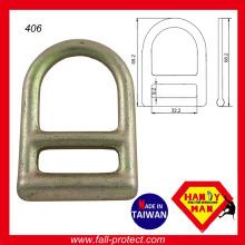 Heiß geschmiedeter Stahl D Ring für Sicherheitsverbindung