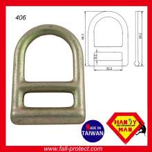 Hot Forged Steel D Ring para conexão de segurança