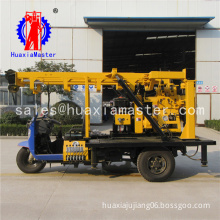 XYC-200A Tricycle Hydraulic Rotary Drilling Rig portable water well drilling rig
