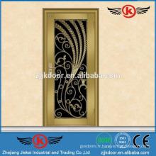 La porte d'entrée en acier inoxydable décorative JK-SS9001 a été finie