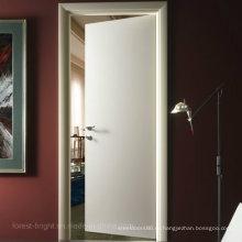 Белый Цвет Врезная Дверь Качания