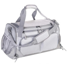 Factory Custom Foldable Large Capacity Shoes Compartment Gym Bag Sports Duffle Bag